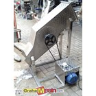 Mesin Ice Block Crusher Stainless Lokal Sederhana 2