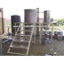 Mesin Destilasi Minyak Atsiri Canggih