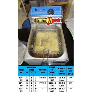 Mesin Penggoreng Elektrik  Electric Deep Fryer