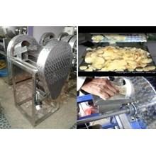 Mesin Produksi Keripik Singkong Mesin Perajang Singkong Otomatis