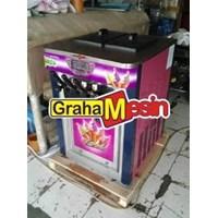 Mesin Produksi Es Krim Alat Ice Cream Maker 2 Rasa Mix 1