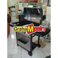 Mesin Side Burner Daging Barbeque Pemanggang Daging 1
