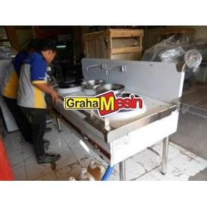 Mesin Burner Gas Kwali Range Pemasak Sup