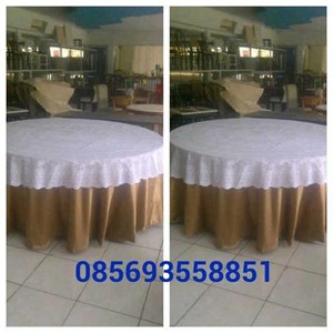 Sarung Cover Meja Pesta
