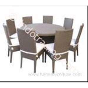 Export Rattan Dining Table Sets Type Syn-1015 Indonesia