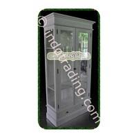 Sell Lemari Minimalis 2 Pintu Kaca Hias Tipe Kdp-089
