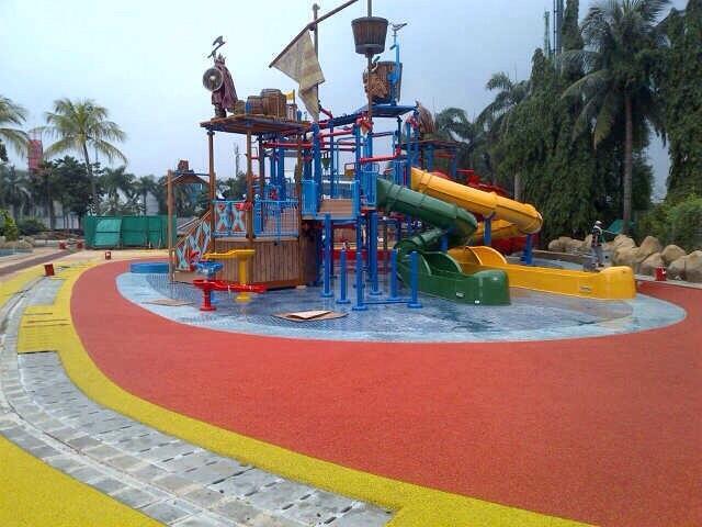 Jual Rubber Flooring Children Playground Harga Murah