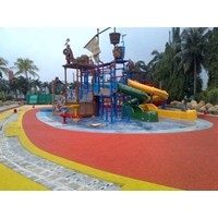 Jual Rubber Flooring Children Playground