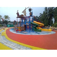 Rubber Flooring Children Playground