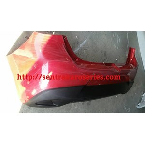 Bumper belakang Mazda2 2015