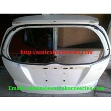 Back Door atau kap bagasi Honda Jazz RS 2013