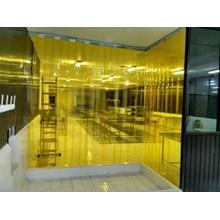 Tirai Plastik Curtain Kuning