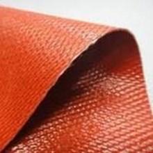 Silicone Fiberglass Lembaran Merah