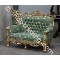 Sofa Antique Gold Leaf Carving Krs2211 Type-M 1