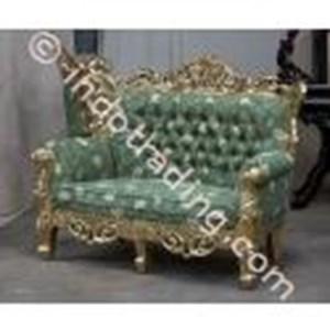 Export Sofa Antique Gold Leaf Carving Krs2211 Type-M Indonesia