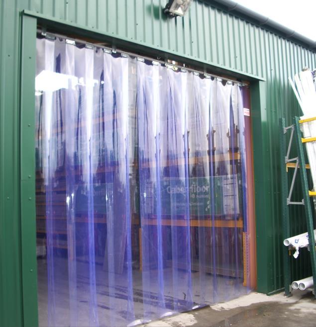 Jual tirai plastik pvc curtain clear roll harga murah for Cortinas de plastico para exteriores