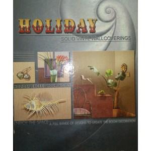 Wallpaper Holiday Solid Vinyl