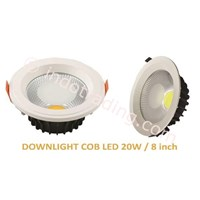 Downlight COB LED 20W - 8 inch 1