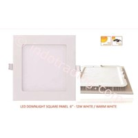 LED Downlight Square Panel 6-12W White 1