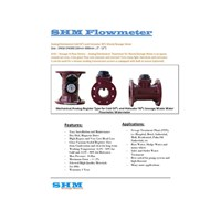 Flow Meter SHM - Distributor Flowmeter SHM