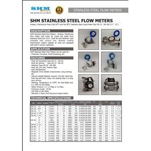 Dari Flowmeter SHM Stainless Steel -  Flowmeter SHM Stainless Steel 1
