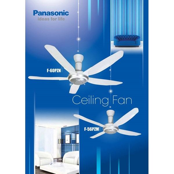 "Kipas Angin Ceiling Fan Remote Panasonic 60"""
