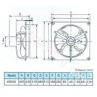 Exhaust Fan Kdk Industrial Lokal 2