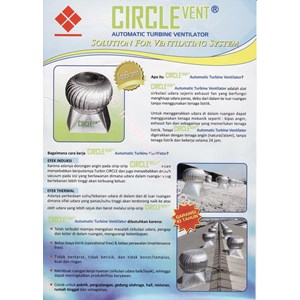 Turbin Ventilasi Circlevent