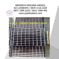 Jual Besi Hollow Galvanis 40x80x1.2mm 2