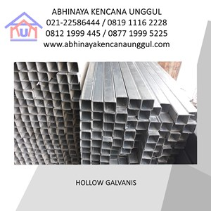 From HOLLOW GALVANIS 30X30X0.7MM 0