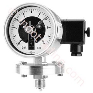 kontak pressure Gauge with diaphragm Kmp 20