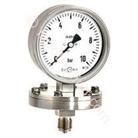 Pressure Gauges Stainless Steel with diaphragm 1