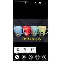 Mug Corel Warna - Gelas Promosi