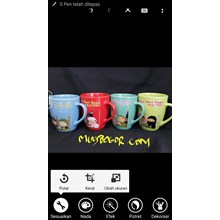 Mug Corel Warna