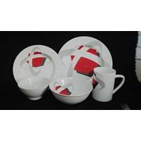 piring keramik cetak full