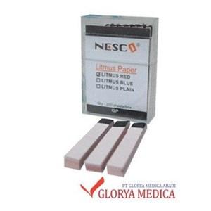 Alat Kesehatan Lainnya Kertas Lakmus Red/Blue/Netral  Nesco ( 200 Lmbr/Ktk)
