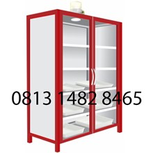 Lemari Laboratorium Steel Chemical Storage Cabinet MKV-LL03
