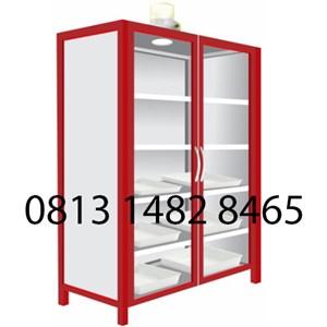 Lemari Laboratorium Steel Chemical Storage Cabinet MKV-LL03