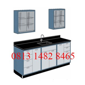 Wall Bench Sink and Rack MKV-WB02