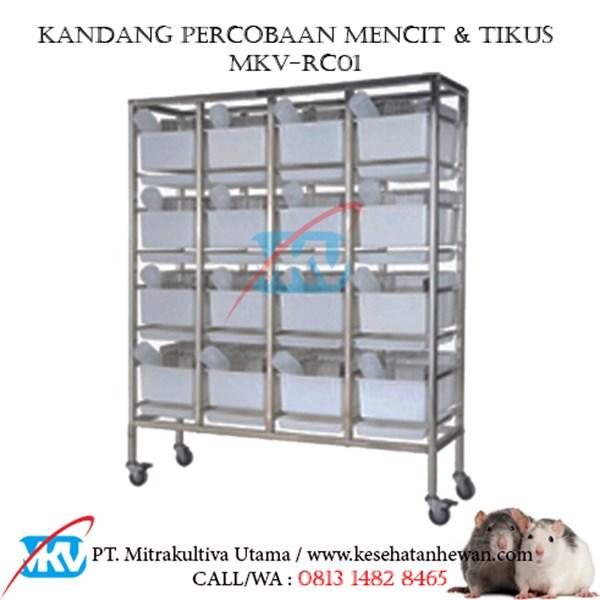 Kandang Percobaan Tikus MKV-RC01
