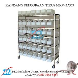 Dari Kandang Percobaan Tikus Mencit MKV-RC03 0