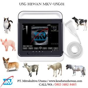 Dari USG Hewan MKV-USG01 0