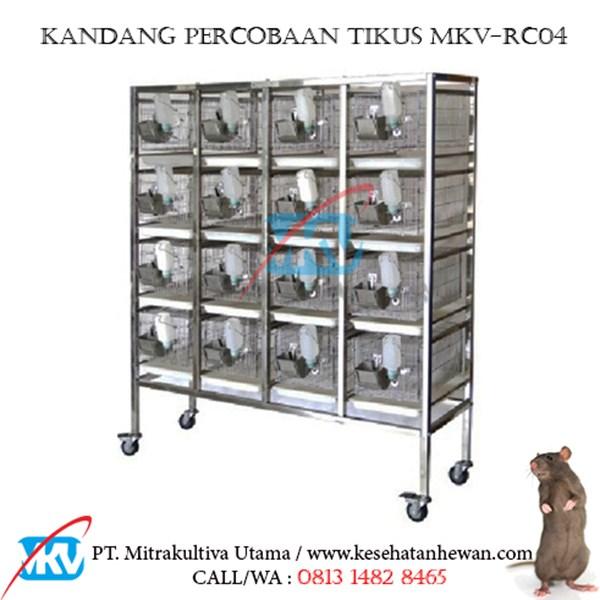 Kandang Percobaan Tikus MKV-RC04