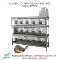 Kandang Percobaan Kelinci MKV-RTC01