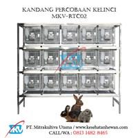 Kandang Percobaan Kelinci MKV-RTC02