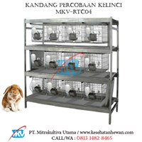 Kandang Percobaan Kelinci MKV-RTC04
