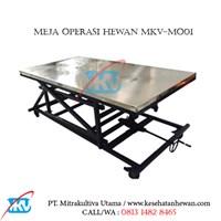 Meja Operasi Hewan MKV-MO01