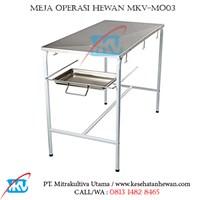 Meja Periksa Hewan MKV-MO03
