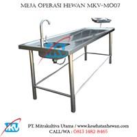 Meja Operasi Hewan MKV-MO07