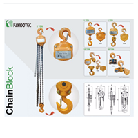 Jual Chain Block Kondotec